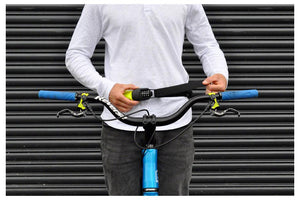 Hiplok Spin Wearable Combination Chain Lock: Neon Yellow
