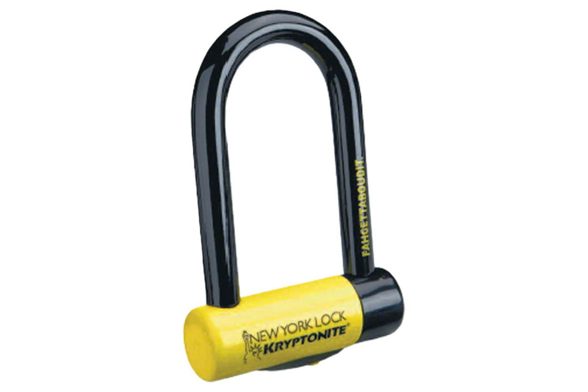 Kryptonite New York Fahgettaboudit Mini U-Lock: 3.25 x 6""