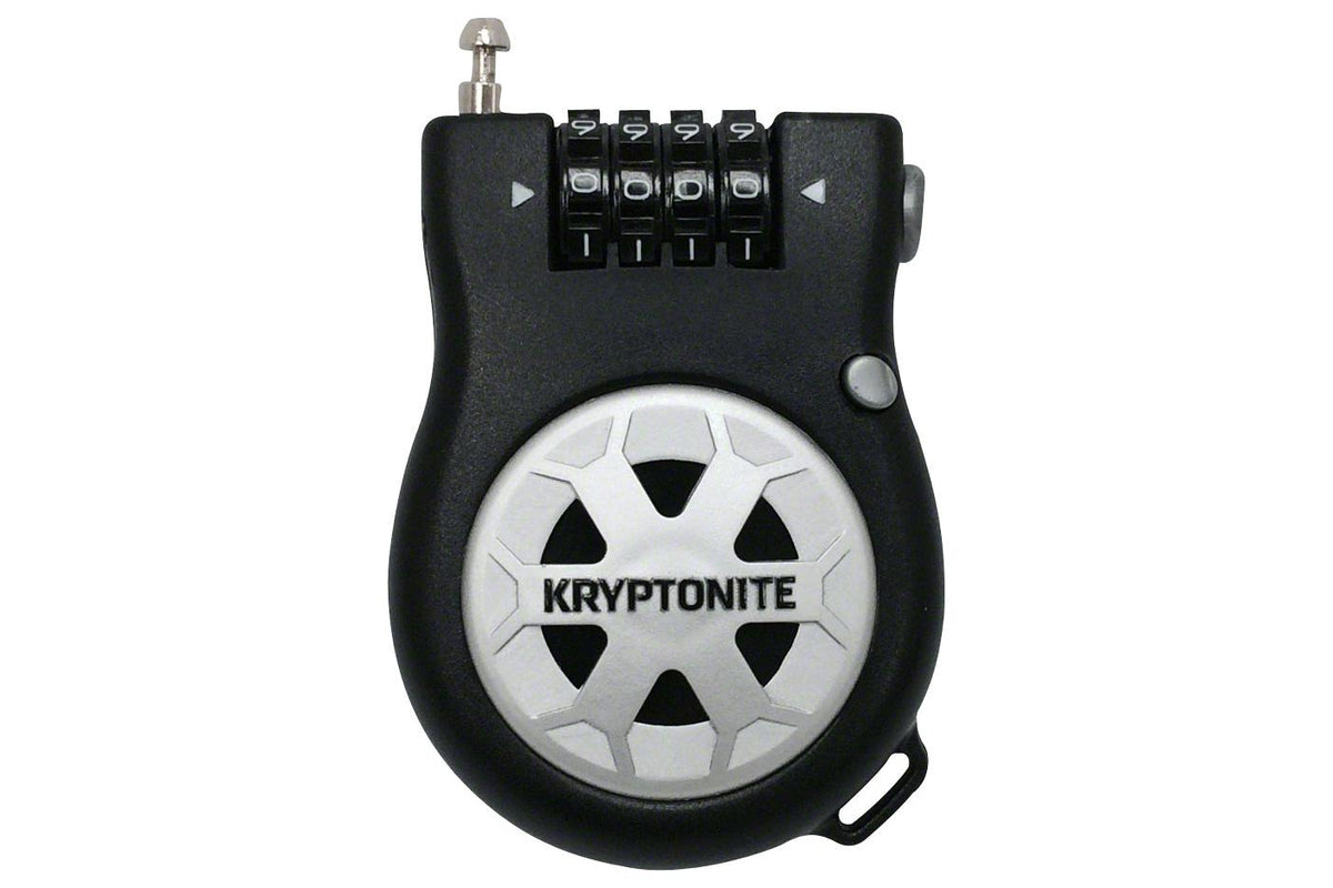 Kryptonite R-2 Retractable Combo Cable Lock: 3' (90cm)