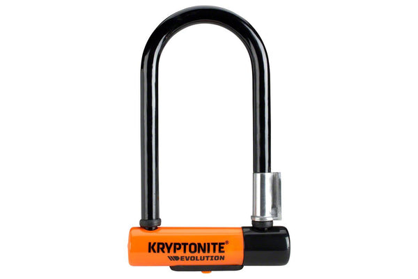Kryptonite Evolution Mini-7 U-Lock with 4' Flex Cable: 3.25 x 7""