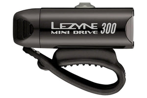 Lezyne Mini Drive 300 LED Headlight: Black