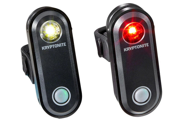 Kryptonite Avenue F-65 Headlight and R-30 Light Set