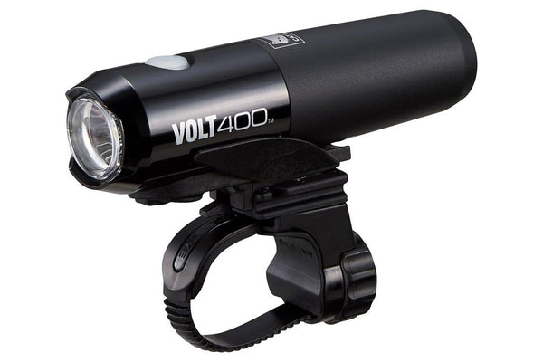 CatEye Volt 400 Rechargeable LED Headlight: Black