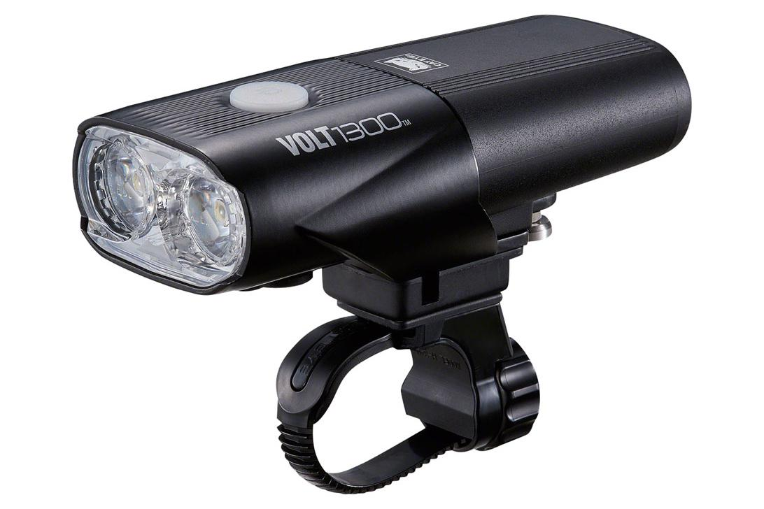CatEye Volt 1300 Headlight: Black