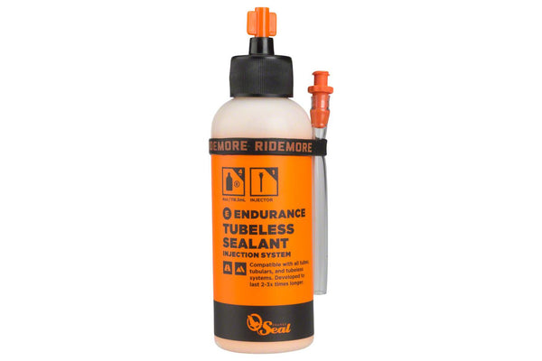 Orange Seal Endurance Tubeless Sealant, 4oz with Twist Lock Applicator