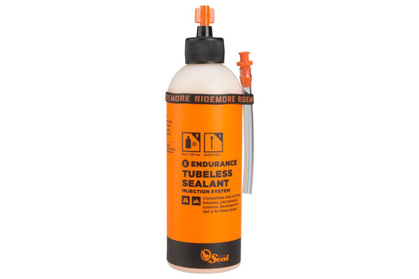 Orange Seal Endurance Tubeless Sealant, 8oz with Twist Lock Applicator