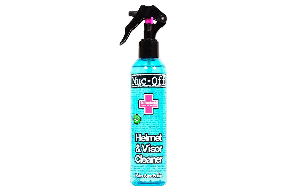 Muc-Off Visor, Lens, and Goggle Cleaner: 250ml Bottle