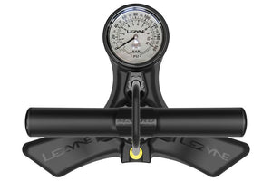 Lezyne Macro Floor Drive Pump: Gloss Black