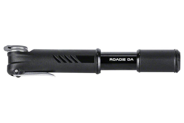 Topeak Roadie DA Dual Action Compact Road Pump: Black