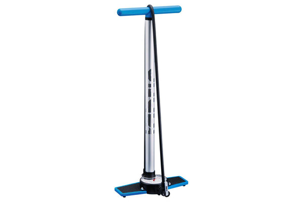 Fabric Stratosphere Race Floor Pump: Silver