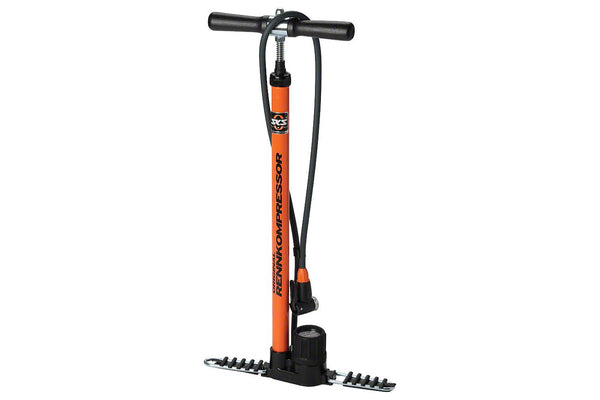 SKS Rennkompressor Floor Pump: Orange