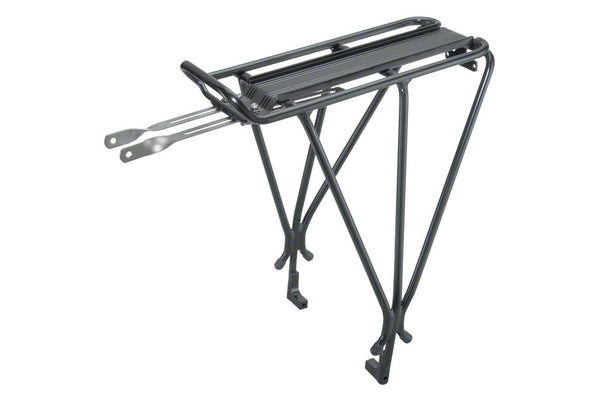 Topeak Explorer Tubular Disc Compatible Rear Rack: Black