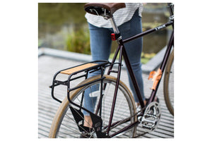 Portland Design Works Bindle Seatpost Rack: Black