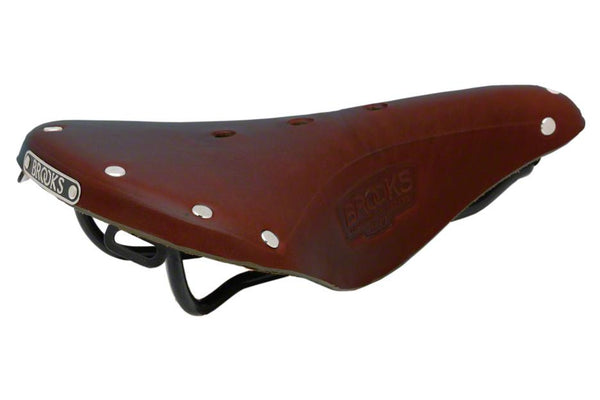 Brooks B17 Standard Antique Brown w/Black Rail