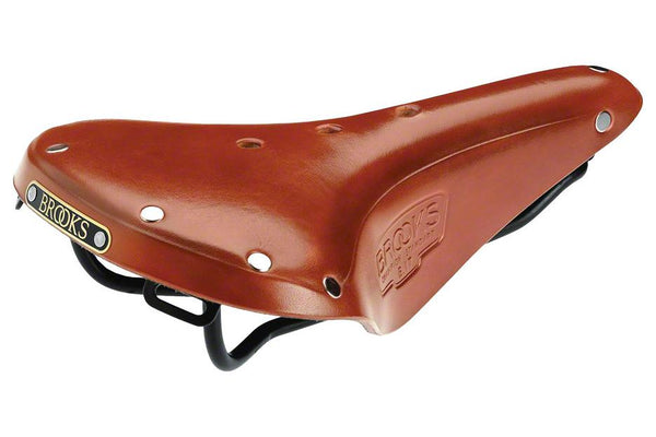 Brooks B17 Standard Honey Top Black Rails