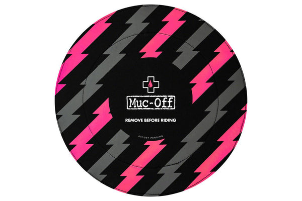 Muc-Off Disc Brake Covers, Black/Pink