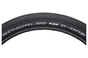 Schwalbe G-One All Around Tire 27.5 x 2.80, Folding Bead, Performance Line, Dual Compound, Double Defense, Black