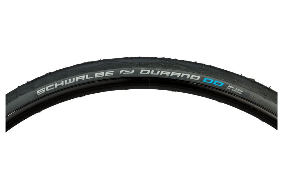 Schwalbe Durano DD Tire 700 x 28, Folding Bead, Performance Line, Dual Compound, Double Defense, Black/Gray