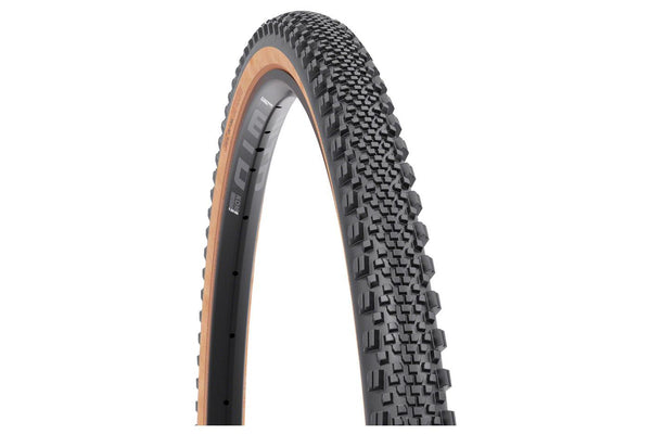 WTB Raddler Tire - 700 x 44, TCS Tubeless, Folding, Black/Tan, Light, Fast Rolling