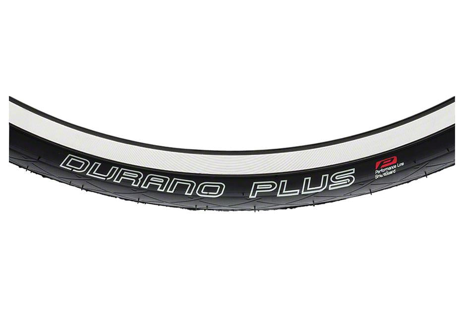 Schwalbe Durano Plus Tire 700 x 25, Folding Bead, Performance Line, Dual Compound, SmartGuard, Black