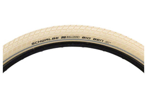 Schwalbe Big Ben Tire 29 x 2.00, Wire Bead, Active Line, Basic Compound, K-Guard, Creme/Reflect