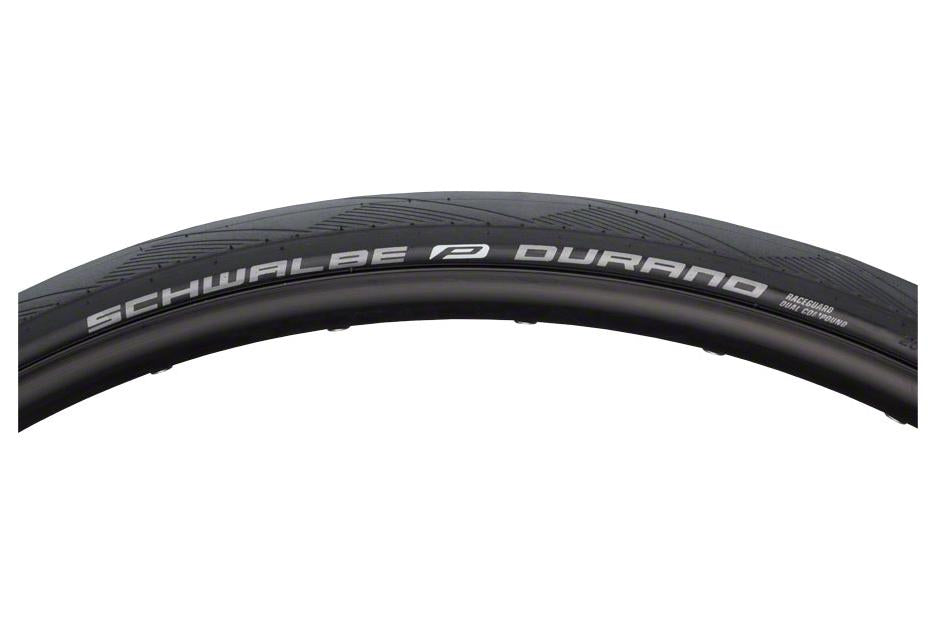 Schwalbe Durano Tire 700 x 25, Folding Bead, Performance Line, Dual Compound, RaceGuard, Black