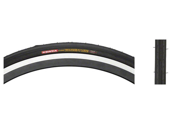 Kenda Koncept Tire - 650c x 23, Clincher, Folding, Black, 60tpi