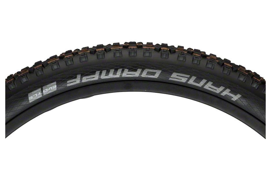 Schwalbe Hans Dampf Tire 29 x 2.35, Folding Bead, Evolution Line, Addix Soft Compound, SnakeSkin, Tubeless Easy, Black