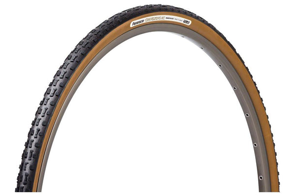 Panaracer GravelKing AC Tire - 700 x 35, Tubeless, Folding, Black/Brown