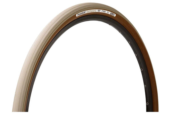 Panaracer GravelKing Tire - 700 x 35, Tubeless, Folding, Sandstone/Brown