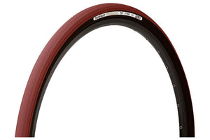 Panaracer GravelKing Tire - 700 x 38, Tubeless, Folding, Bordeaux/Black
