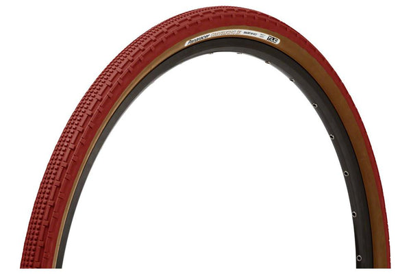 Panaracer GravelKing SK Tire - 700 x 50, Tubeless, Folding, Bordeaux/Brown