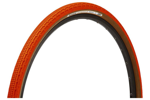 Panaracer GravelKing SK Tire - 700 x 43, Tubeless, Folding, Orange/Brown