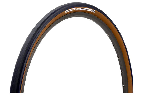 Panaracer GravelKing + Tire - 700 x 38, Tubeless, Folding, Black/Brown, ProTite Protection