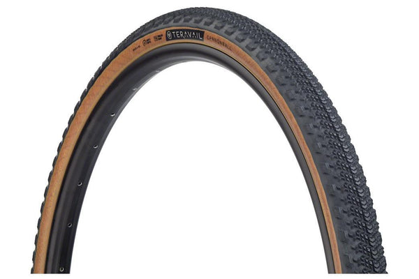 Teravail Cannonball Tire - 650b x 40, Tubeless, Folding, Black/Tan,  Light and Supple