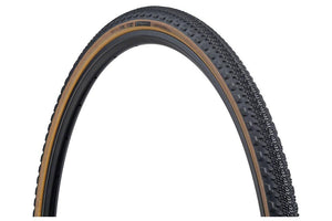 Teravail Cannonball Tire - 700 x 35, Tubeless, Folding, Black/Tan, 60tpi, Light and Supple