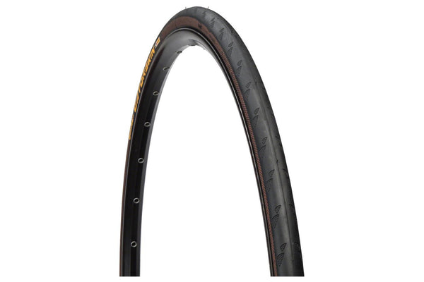 Continental Gatorskin Tire - 700 x 23, Clincher, Folding, Black, 180tpi