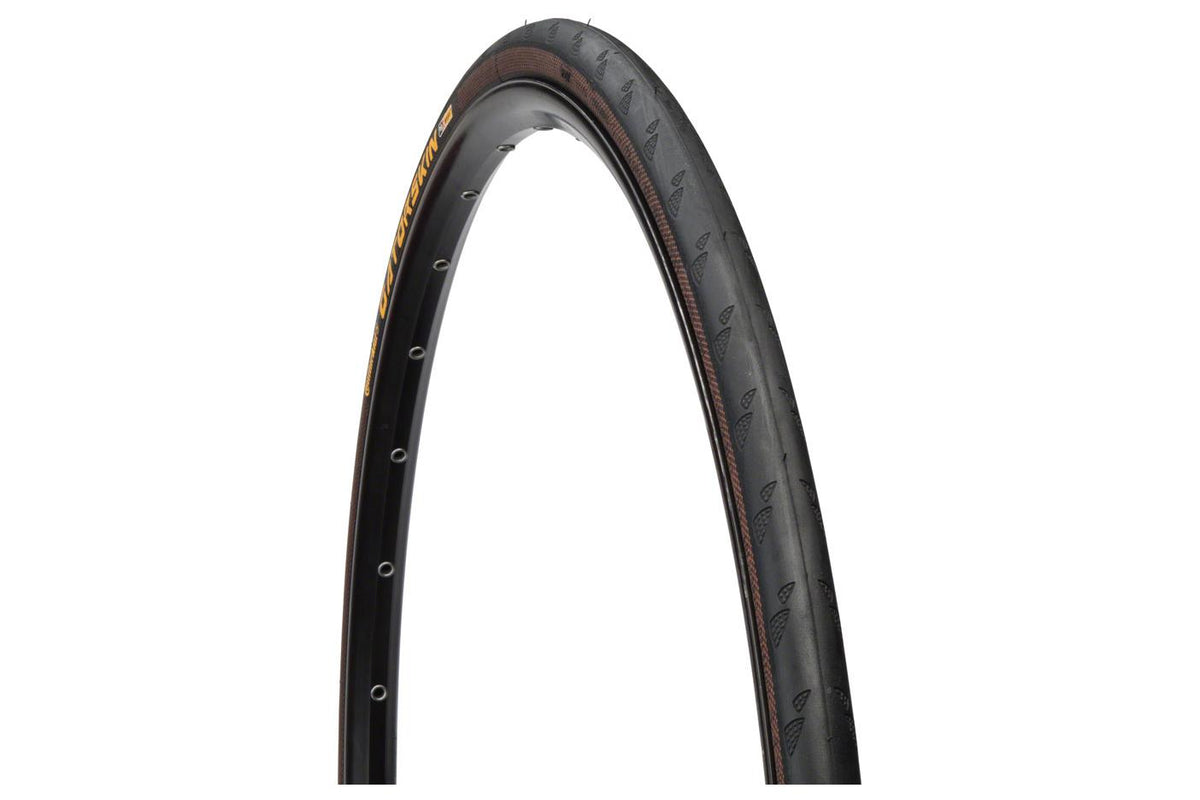 Continental Gatorskin Tire - 700 x 25, Clincher, Steel, Black, 180tpi