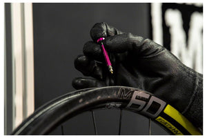 Muc-Off Tubeless Valve Kit: Pink, fits Road and Mountain, 44mm, Pair