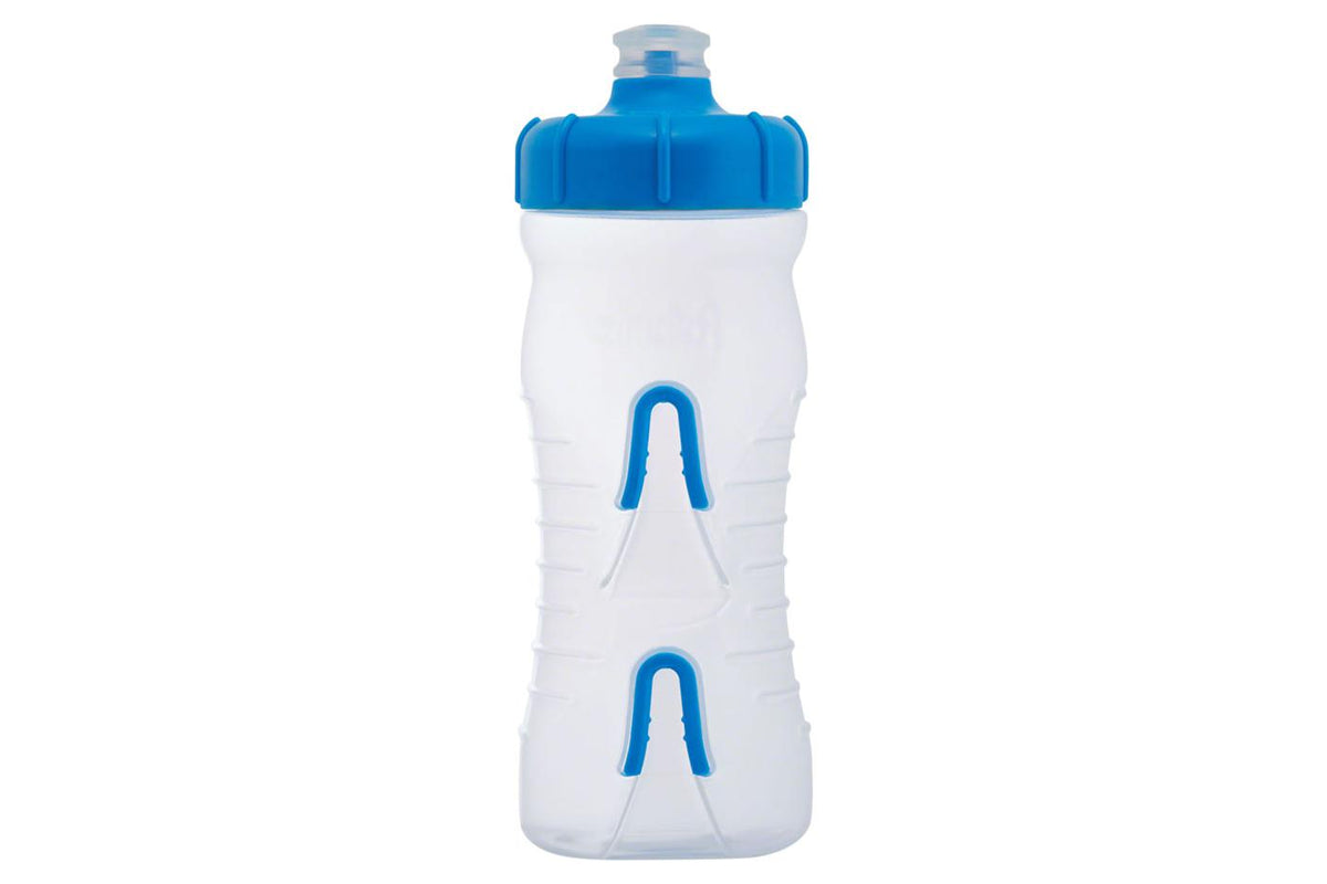 Fabric Cageless Water Bottle: 600ml, Clear/Blue