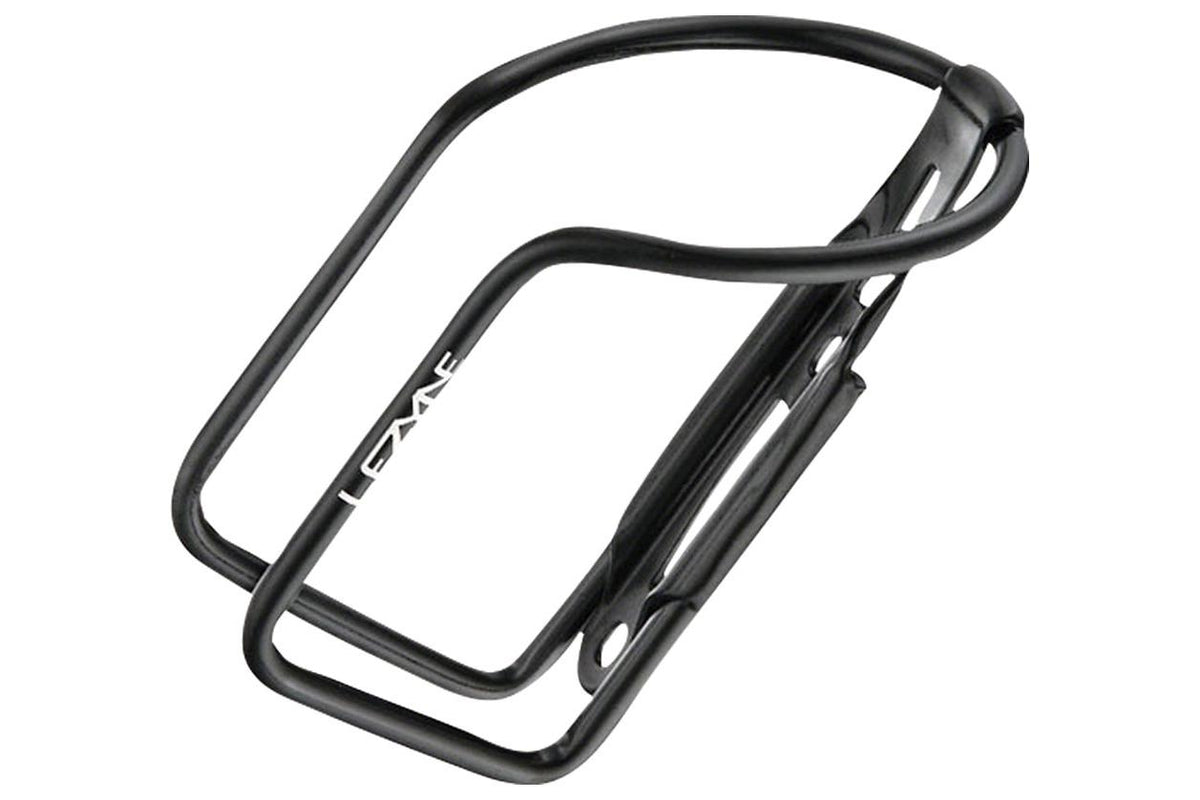 Lezyne Aluminum Power Bottle Cage: Black