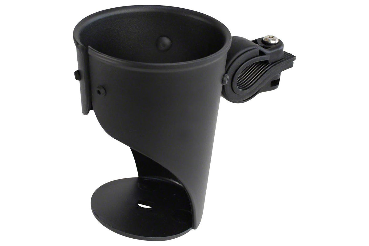 Delta Grande Beverage Holder/ Water Bottle Cage: Handlebar Mounted Black