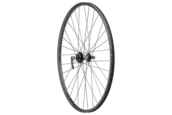 "Quality Wheels Value Series Disc Front Wheel 29"" 6-bolt / Sun SR25 Black"