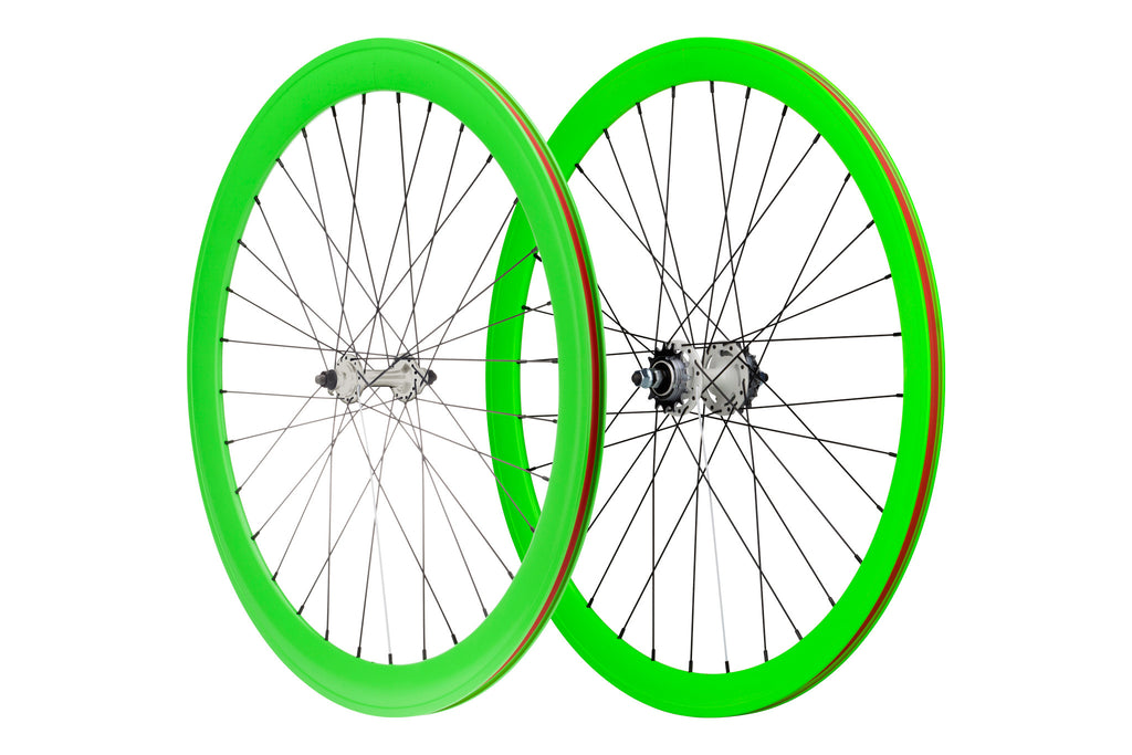 Pure Fix 700C 40mm Glow Wheelset