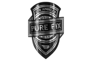 Pure Fix Head Tube Badge