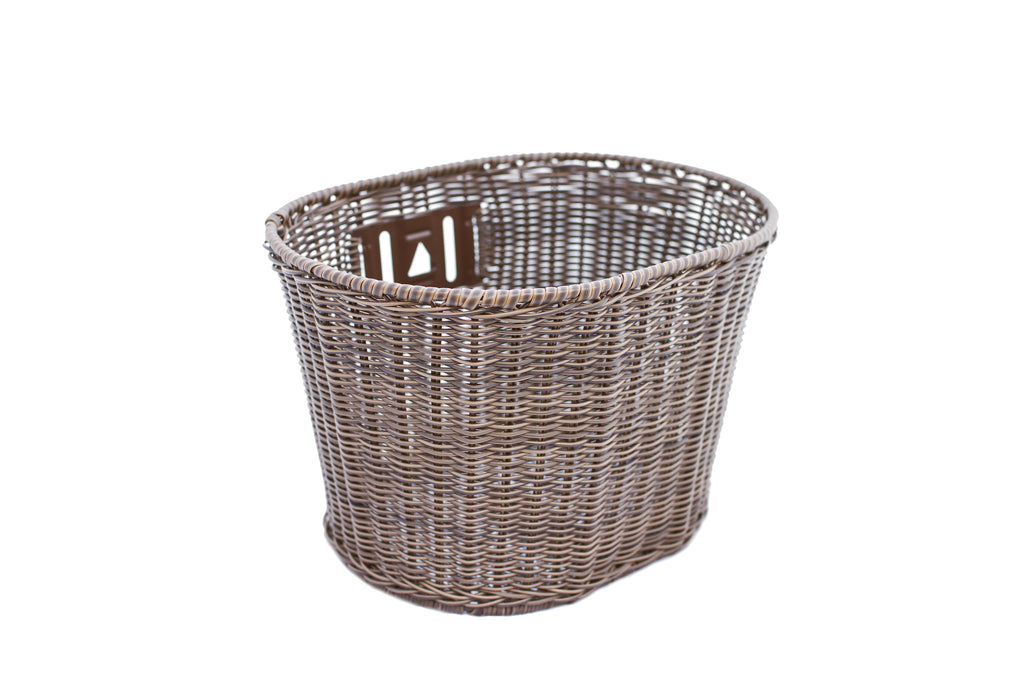 Petite Mock Wicker Basket