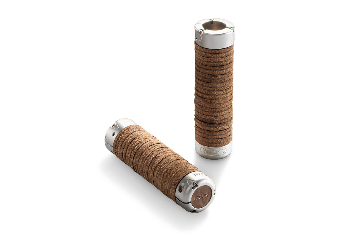 Adjustable Length Leather Ring Grips