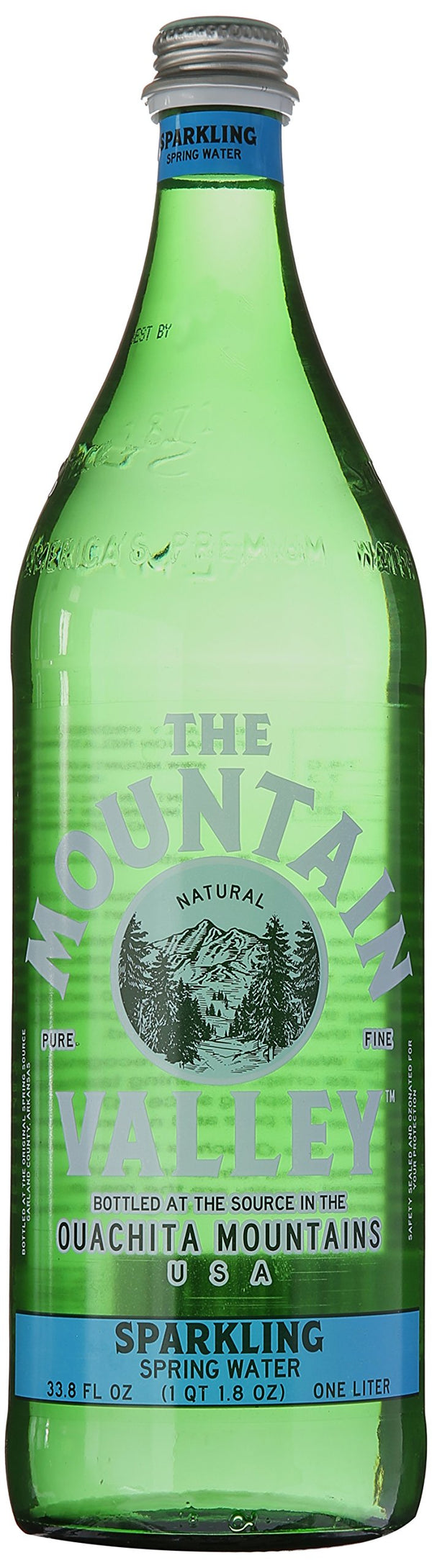Mountain Valley - Glass Sparkling Water 1L