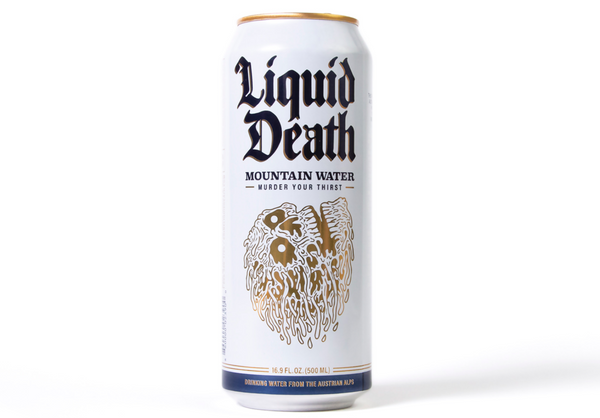 Liquid Death - Premium Mountain Water 500mL