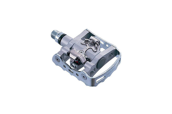 "Shimano PD-M324 Pedal Set, 9/16"", Black/Silver"